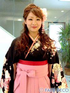 所沢 久米川 浦和 美容室FACEDECO 成人式スタイル01