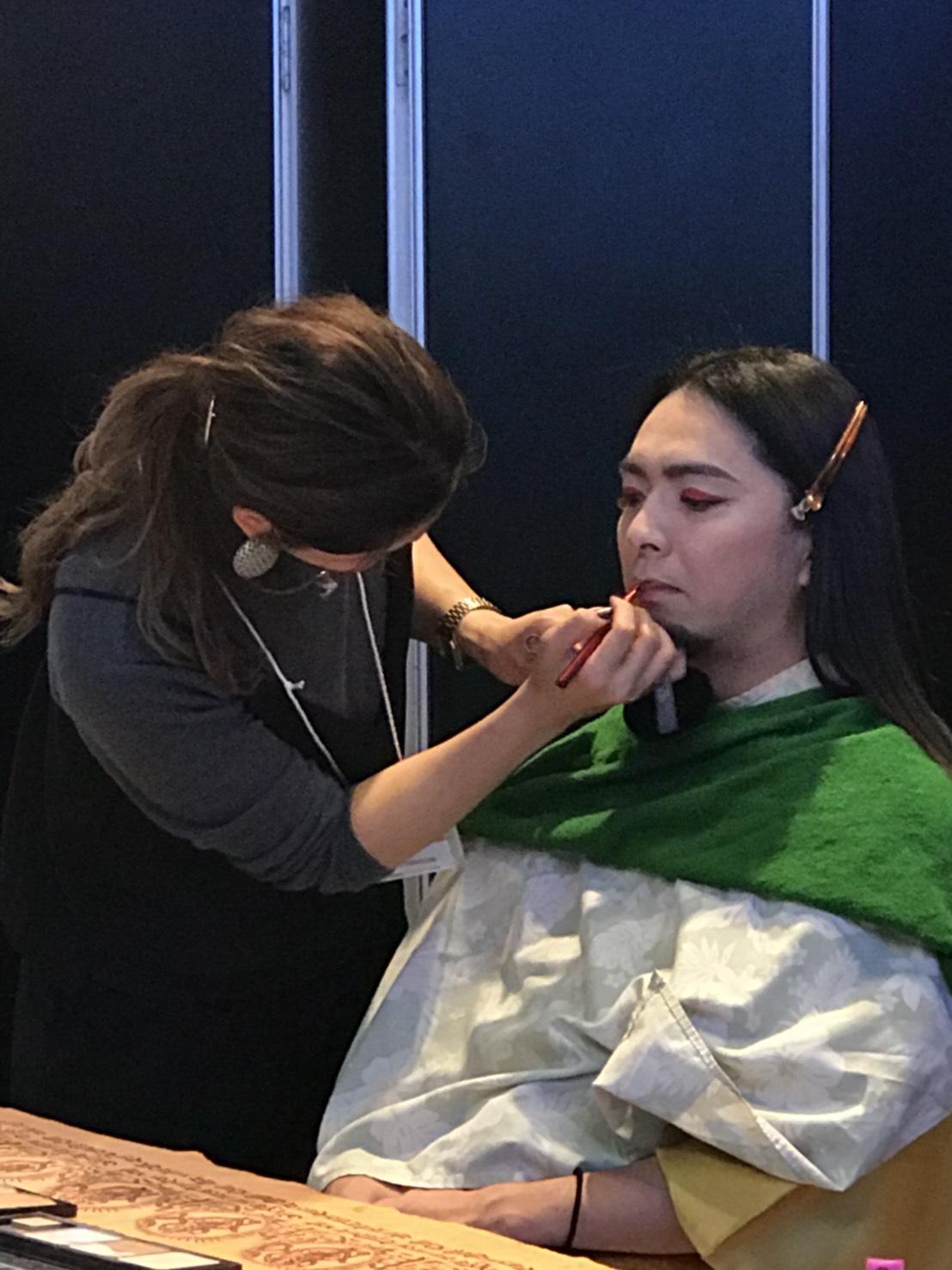 所沢美容室FACE DECOヘアメイクの画像