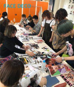 所沢美容室 FACEDECO ヘアスタイル ヘアメイク デザイン 勉強