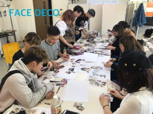 所沢 美容室 FACEDECO ヘアメイク ヘアスタイル 勉強