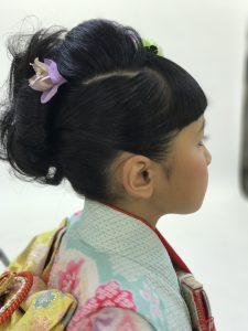 所沢美容室FACE DECO の七五三