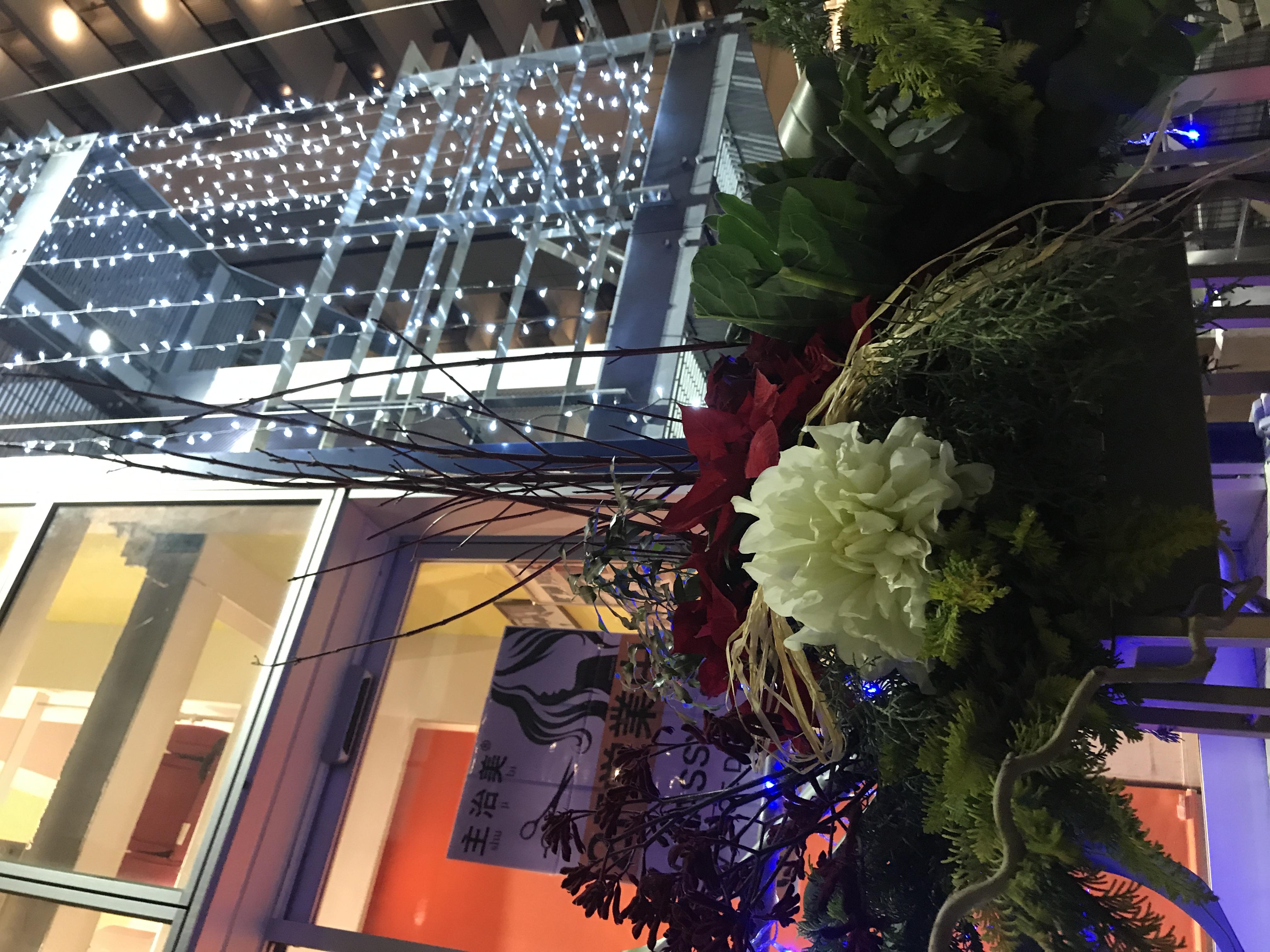 関口所沢テラス 所沢 久米川 浦和 美容室 理容室 ヘアメイク 着付け ブライダル シェービング 成人式 イルミネーション クリスマス お正月 フラワーアート