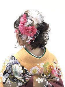 所沢 久米川 浦和 美容室 facedeco 成人式画像003