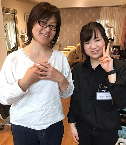 所沢西口美容室FACEDECO